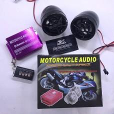 АУДИО-блок (Bluetooth, МРЗ-USB/SD, FM-радио, пультДУ, сигнализация)