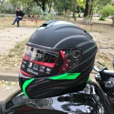MT Helmets TARGO Doppler Green MATT