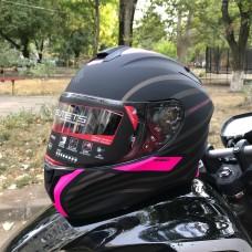 MT Helmets TARGO Doppler black MATT