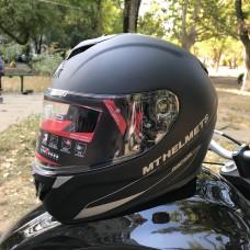 MT HELMETS RAPIDE Solid matt black