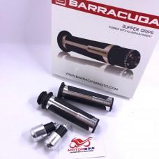 Ручки руля (грипсы) Barracuda Silver