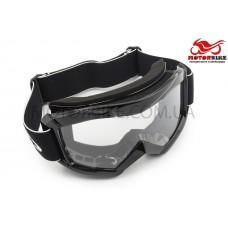 Очки для мотокроссаMJ Vega 16 (прозрачное стекло)
