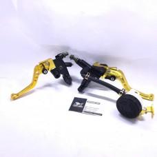 Комплект сцепления и тормоза с регулируемыми ручками Gold