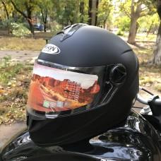 Шлем FXW HF-122 Black MATT