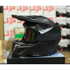 Шлем HD HF-806 чёрный мат